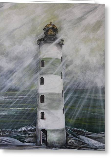 Point Lookout Lighthouse Greeting Card