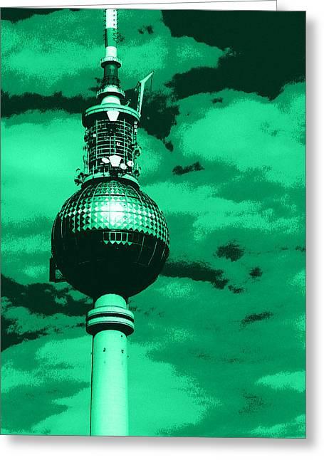 Pop Art Berlin Greeting Card