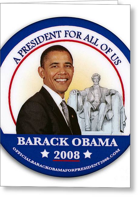 Presidential Campaign, 2008 Greeting Card by Granger