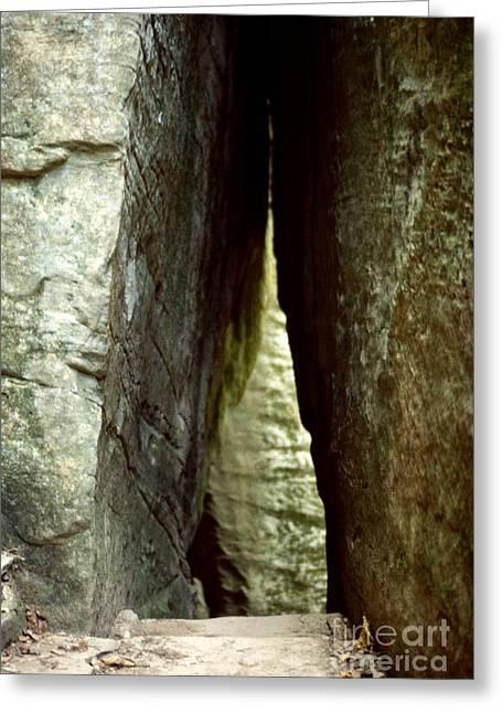 Rim Rock Trail - Illinois Greeting Card