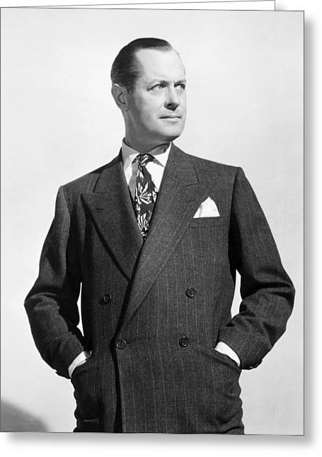 Robert Montgomery Greeting Card by Granger
