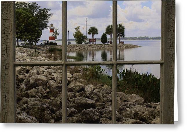 Greeting Card featuring the photograph Room With A View by Randy Sylvia