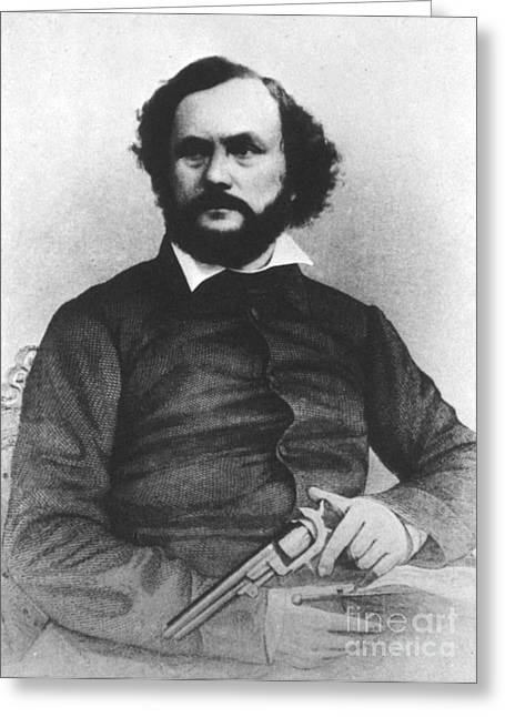 Samuel Colt, American Inventor Greeting Card by Science Source