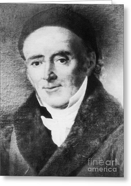 Samuel Hahnemann, German Physician Greeting Card