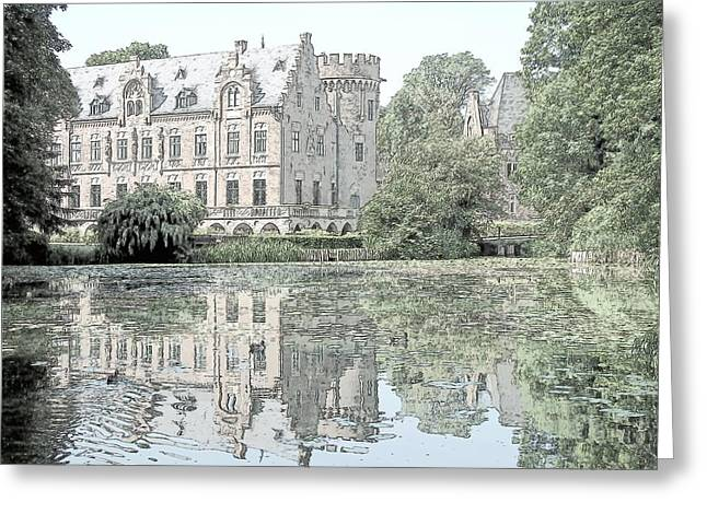 Schloss Paffendorf Germany Greeting Card by Joseph Hendrix