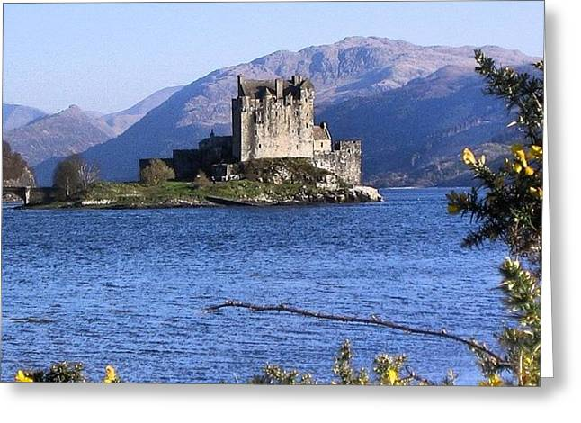 Scottish Castle Greeting Card