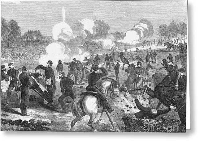Seven Days Battles, 1862 Greeting Card by Granger
