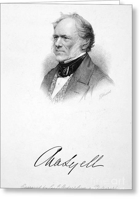 Sir Charles Lyell Greeting Card by Granger