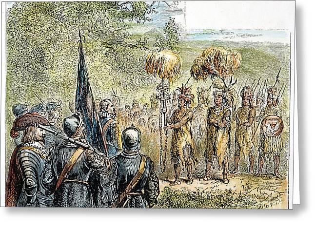 Sir Francis Drake Greeting Card by Granger