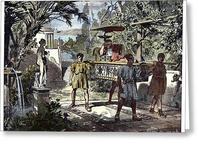 Slavery: Ancient Rome Greeting Card
