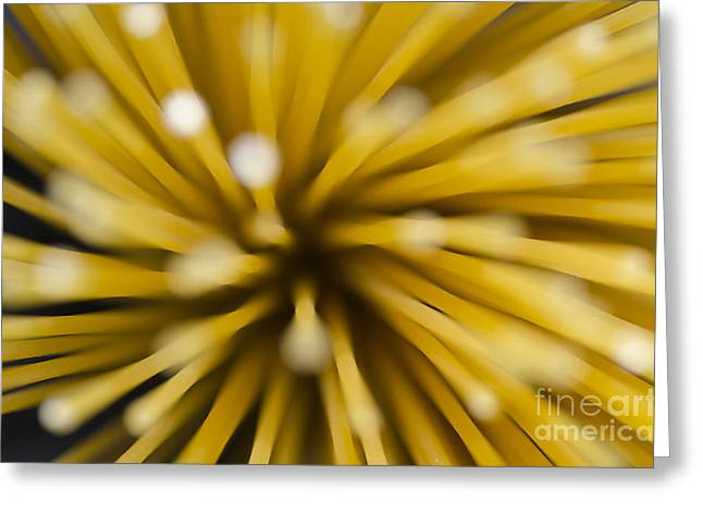 Spaghetti Greeting Card by Mats Silvan