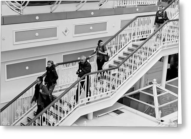 St. Stephens Green Shopping Centre Greeting Card by Semmick Photo