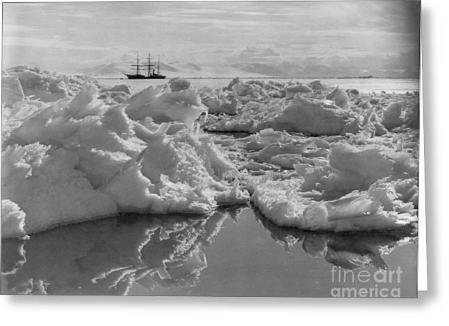 Terra Nova, Robert Falcon Scotts Greeting Card by Photo Researchers