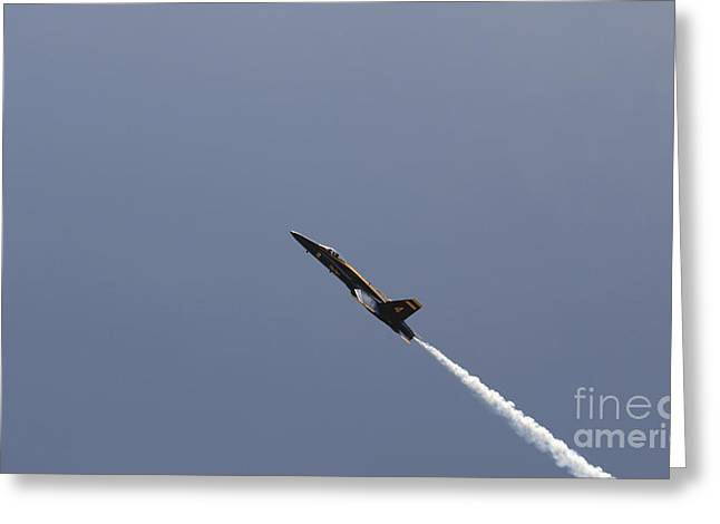 The Blue Angels Perform Aerial Greeting Card