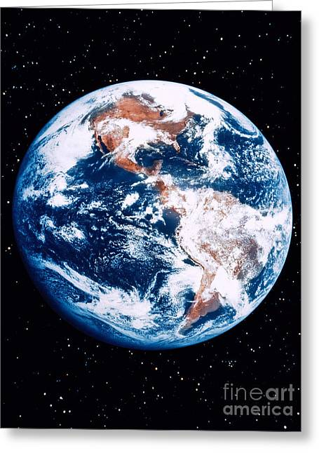 The Earth Greeting Card by Stocktrek Images
