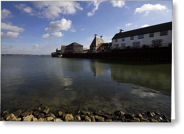 The Stour Estuary Manningtree Essex Greeting Card by Darren Burroughs