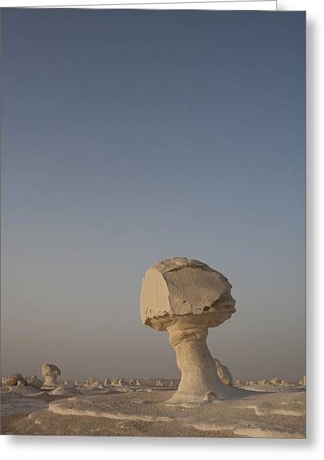 The Strange Eroded Formations Greeting Card by Taylor S. Kennedy