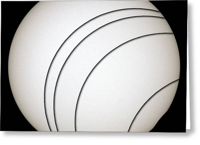 Total Solar Eclipse Greeting Card by Laurent Laveder