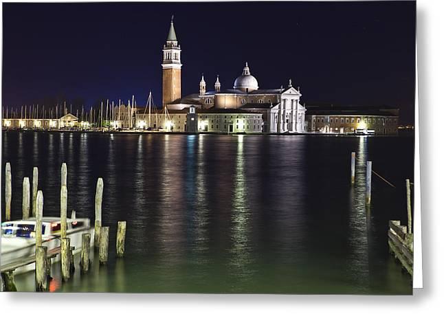 Venice Greeting Card by Joana Kruse
