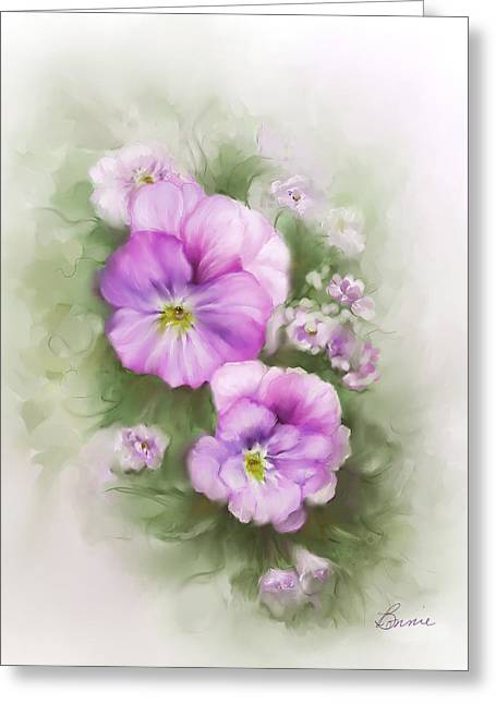 Viola Greeting Card