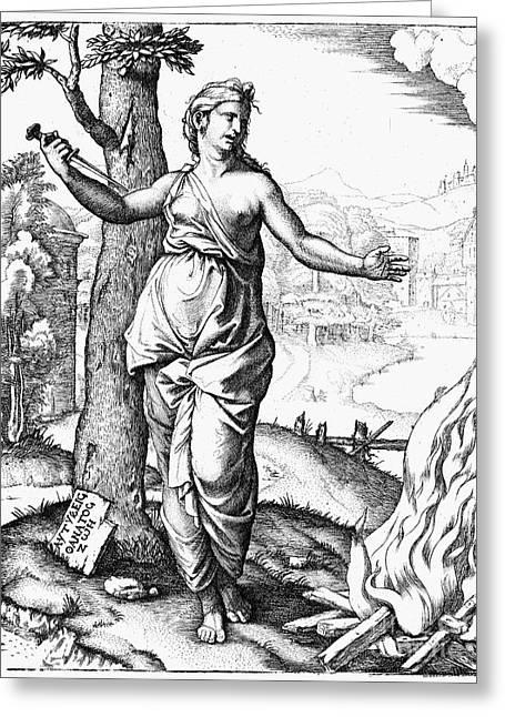 Virgil: The Aeneid Greeting Card by Granger