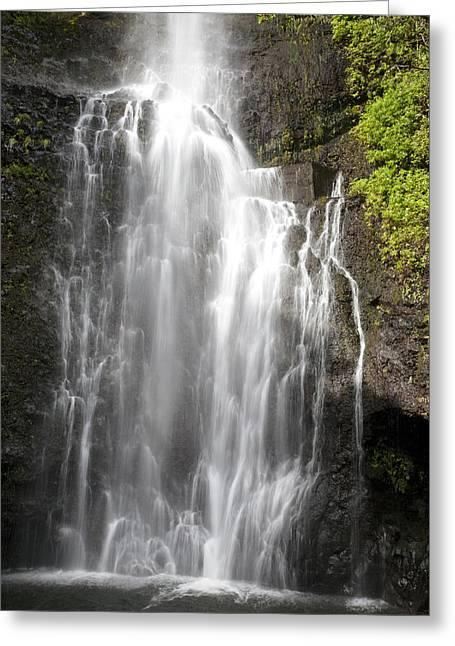 Wailua Falls Greeting Card by Jenna Szerlag