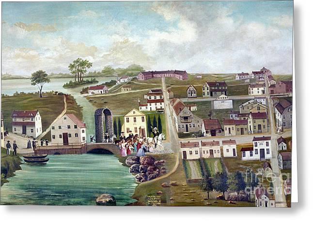 Washington: Trenton, 1789 Greeting Card by Granger