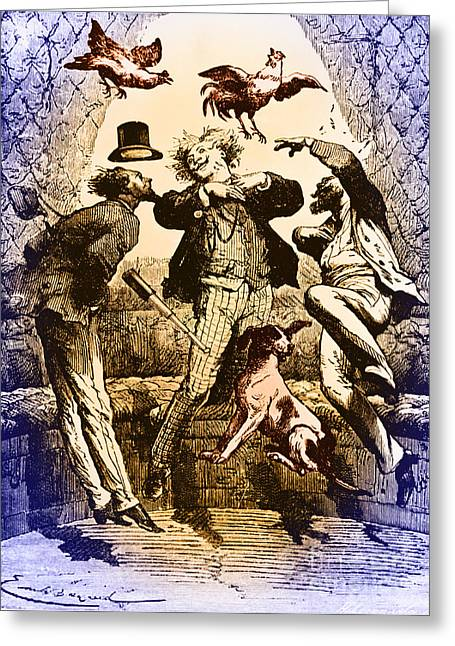 Weightlessness, 19th Century Greeting Card by Omikron