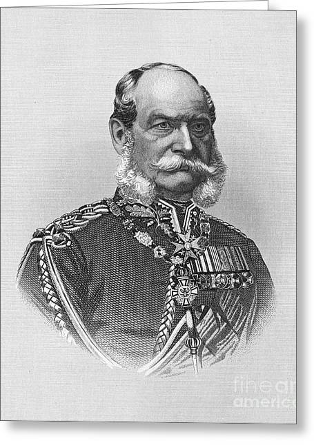William I Of Prussia Greeting Card