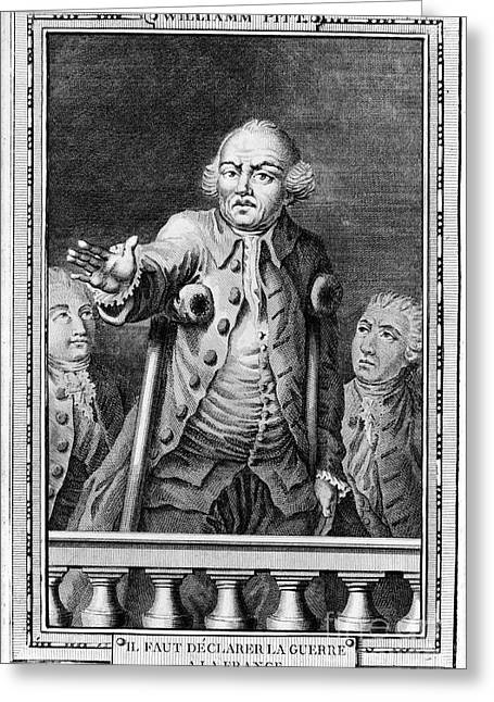 William Pitt (1708-1778) Greeting Card by Granger