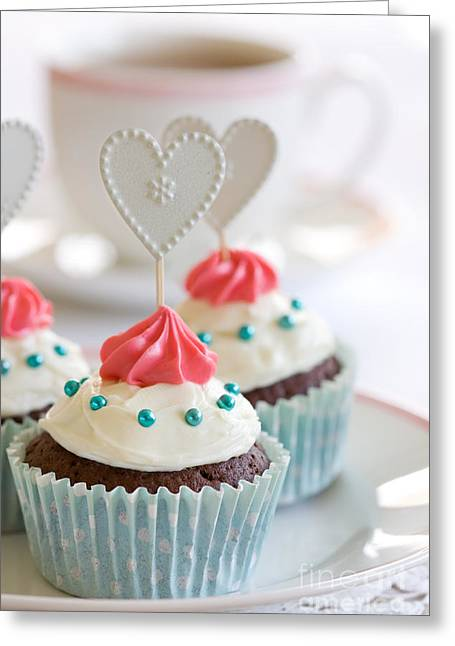 Cupcakes Greeting Card by Ruth Black