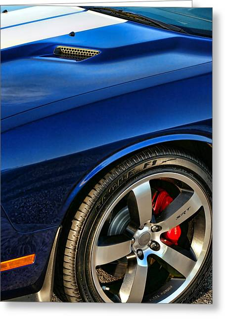 2011 Dodge Challenger 392 Hemi Srt8  Greeting Card by Gordon Dean II