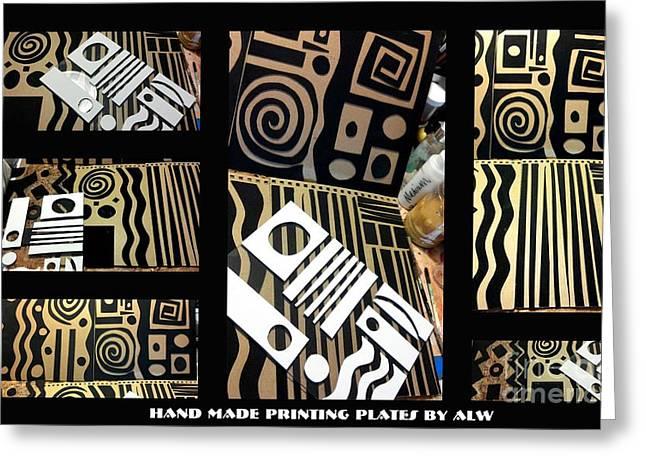2012 Studio Play - Handmade Printing Plates Greeting Card