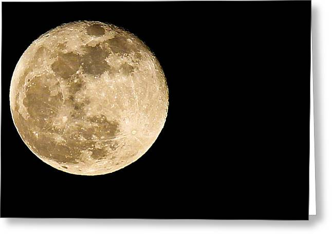2012 Super Moon Greeting Card