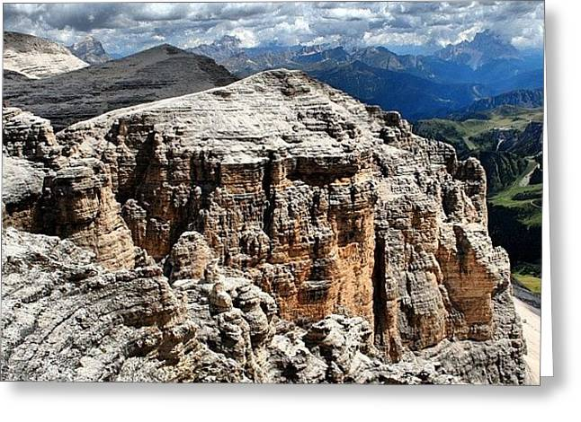 Dolomites Greeting Card by Luisa Azzolini