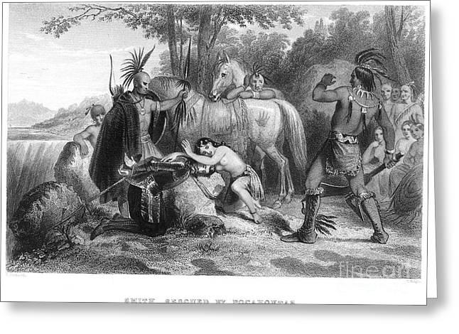 Pocahontas (1595?-1617) Greeting Card by Granger