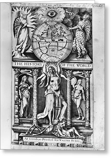 Sir Walter Raleigh Greeting Card