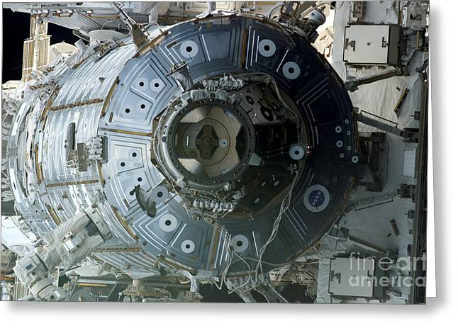 Space Shuttle Discovery Greeting Card by Nasa