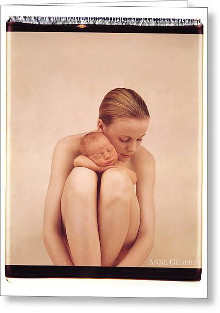 Polaroid Greeting Cards - Untitled Greeting Card by Anne Geddes