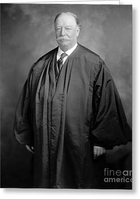 William Howard Taft Greeting Card by Granger