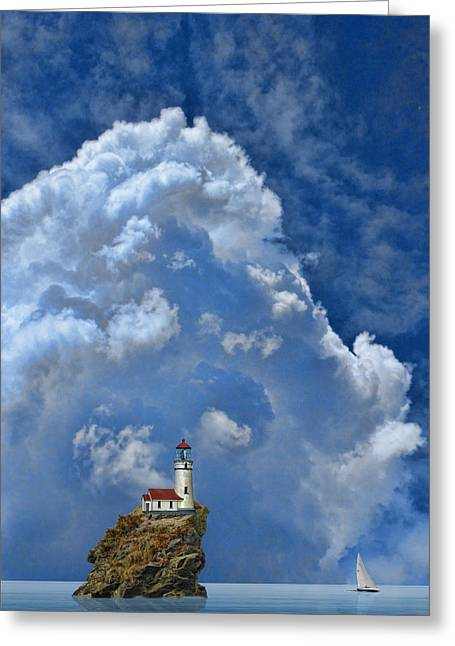 2370 Greeting Card by Peter Holme III