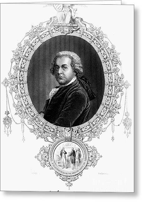 John Adams (1735-1826) Greeting Card by Granger