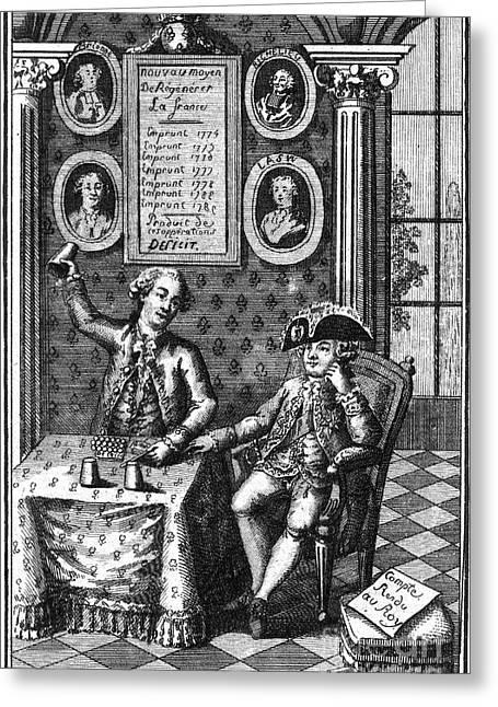 Louis Xvi (1754-1793) Greeting Card by Granger