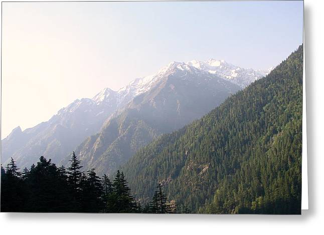 Splendors Of Himalayas Greeting Card by Anand Swaroop Manchiraju