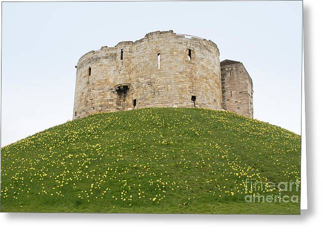 Scenes From The City Of York  Greeting Card by Carol Ailles