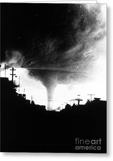 Tornado Greeting Card by Science Source