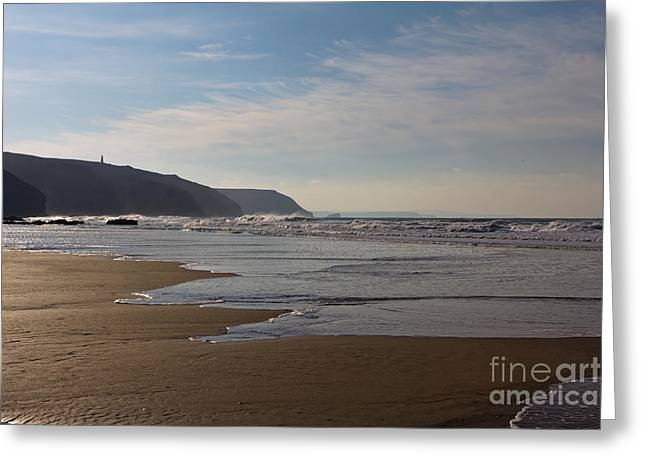 Porthtowan Cornwall Greeting Card