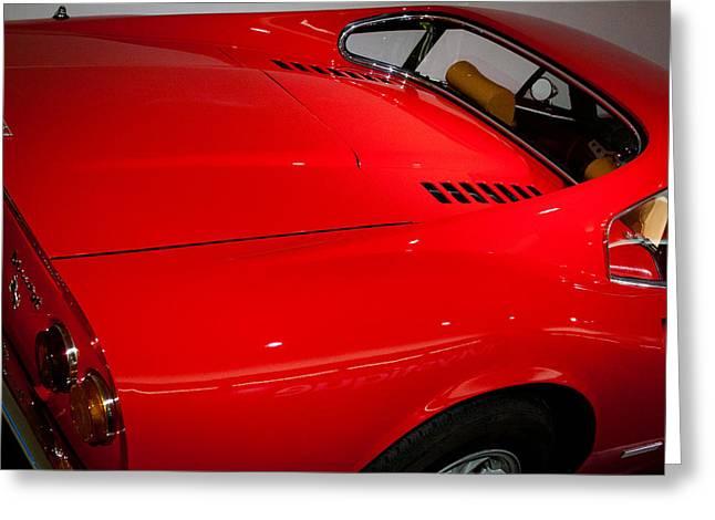 1973 Ferrari Dino 246 Gt Greeting Card by David Patterson
