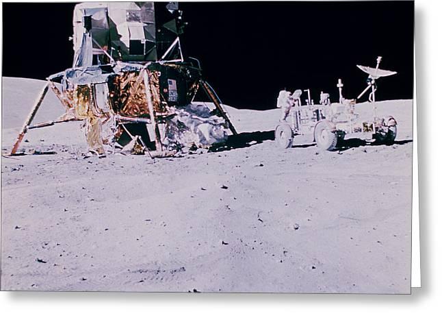 Apollo Mission 16 Greeting Card