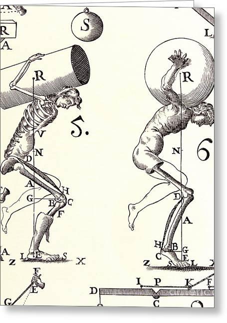 Biomechanics Greeting Card